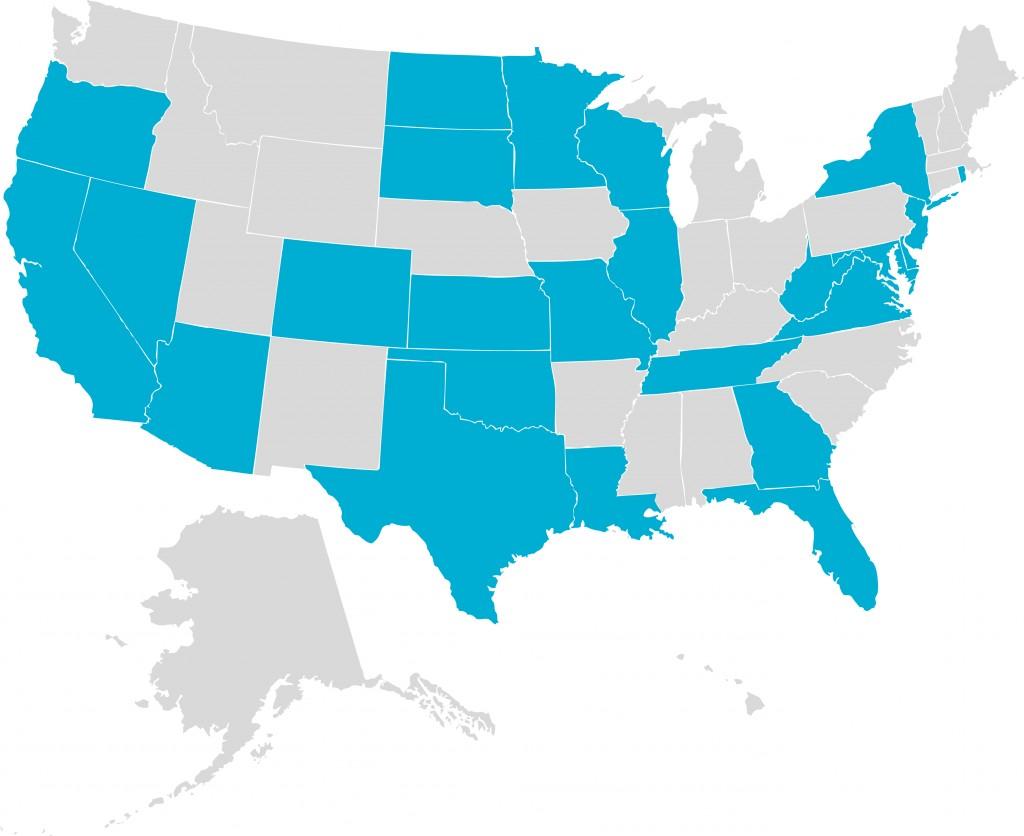 AHA US Map